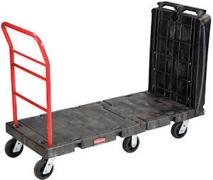 Rubbermaid 4496 Convertible Platform Truck